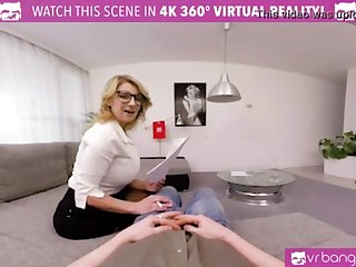VRBangers.com Huge-Titted Lecturer Katerina Hartlova Tempts and Bj's College Girl