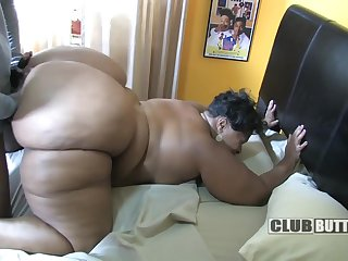 Biggest Of All Black Asses - homemade HD sex with ebony BBW