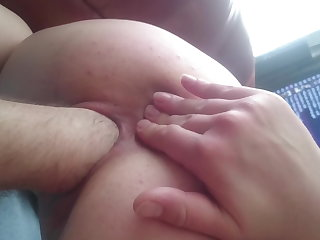 Hand in pussy