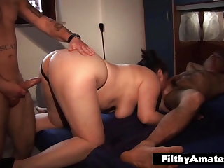 Double penetration and cum for the two mozzarella producers