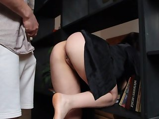 Hot stepmother specially doesn't wear panties