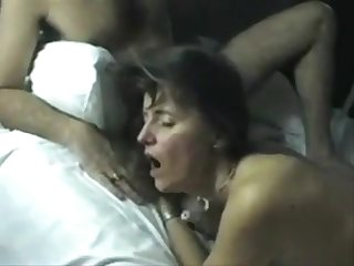 Older Euro Couple Invite A Young Stud For An Intimate Threesome Orgy