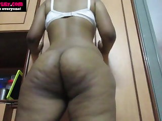 Big Ass Desi Indian Tamil Girl Horny Lily Does Nude Dance