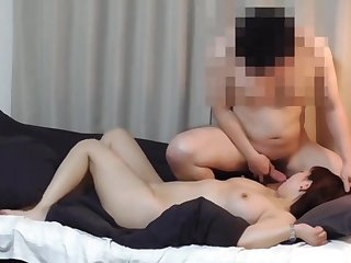 Real Diva - Chinese babe in homemade hardcore with cumshot - Asian tits