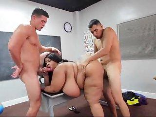 BBW latina slut hard adult video