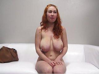 Hot bosomy vixen Sarka energizing adult clip