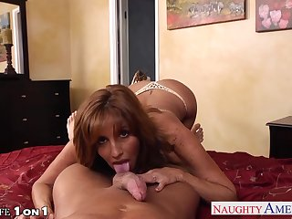 Got naked busty MILFie housewife is ready for some hardcore doggy