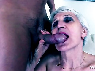 82yr old Granny Pickup and Make Love by Horny Perv